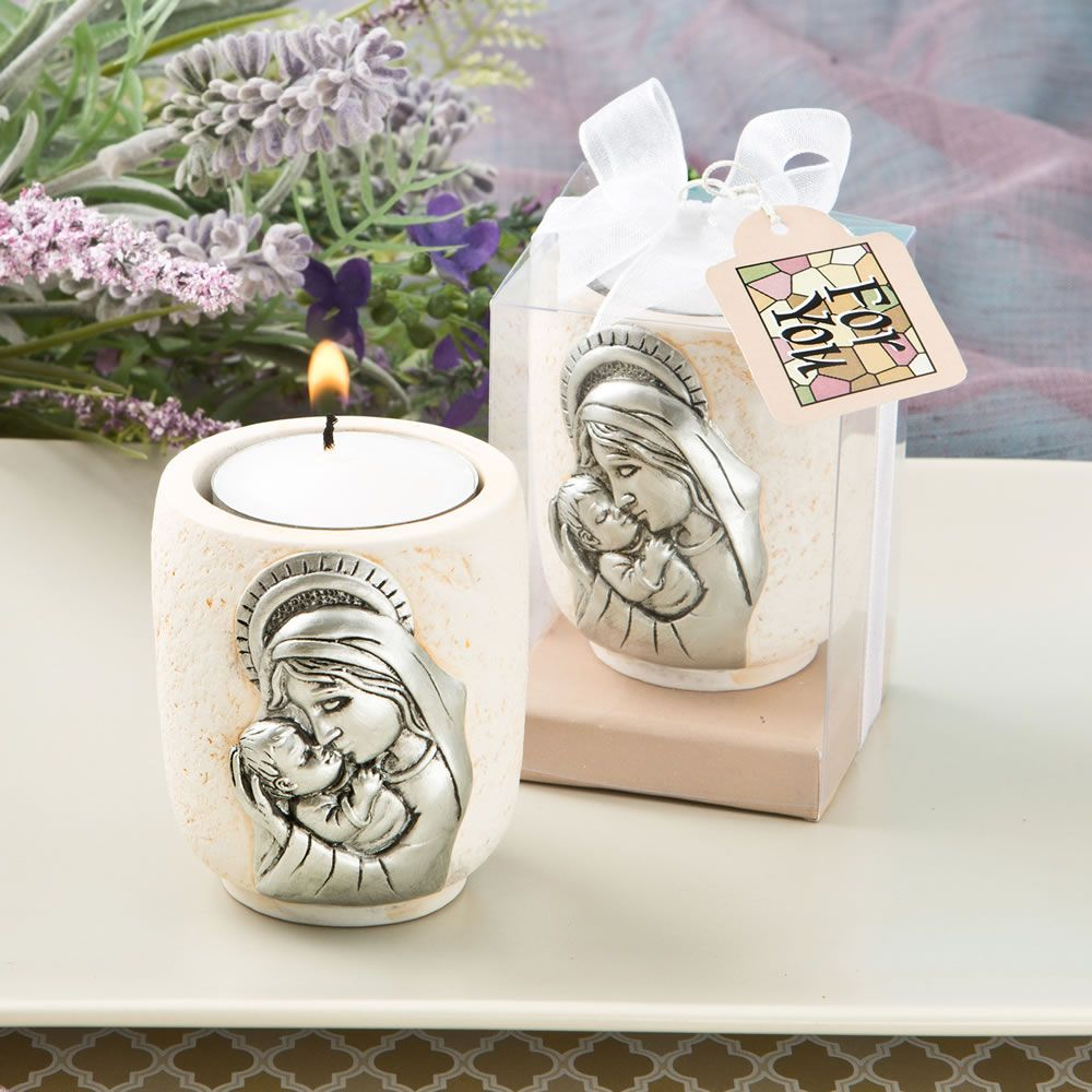the wedding cabinet madonna and child candle tea light holder With kitchen cabinets lowes with teacup candle holders