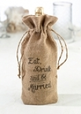 Hessian Wine Bag
