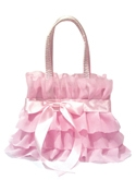 Small Pink Ruffles Gift Bag