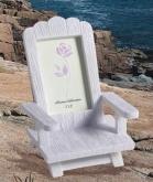 SF beach chair place card frame