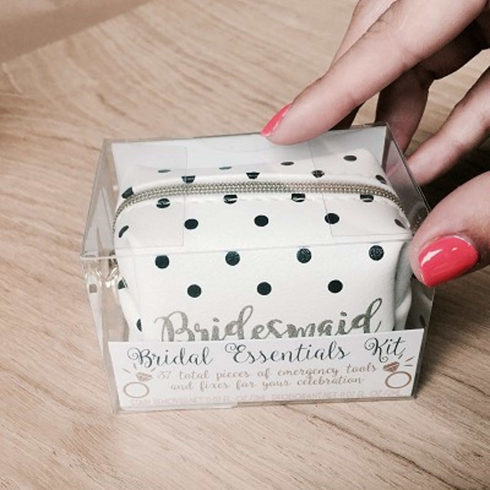 The Wedding Cabinet Bridal Essentials Wedding Day Kit For