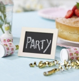 ivory chalkboard place card