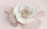 hessian wedding garter