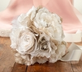 hessian wedding artificial bouquet
