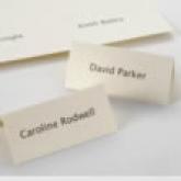 diy placecards plain ivory