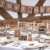 CSC bunting justmarried jutmytype