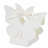 butterfly favour box ivory