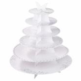 SIA 6 tier cakestand - white
