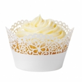 SIA cupcake wrappers - ivory
