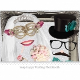 Photobooth wedding snap happy