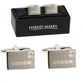harvey makin groom cufflinks