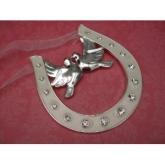love birds horseshoe
