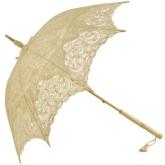 Ivory Emma Lace Parasol